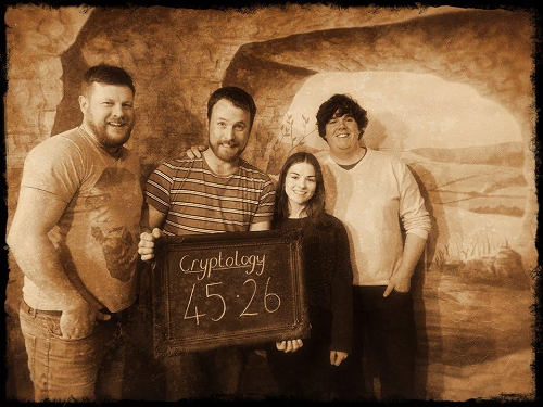 Cryptology at an escape room