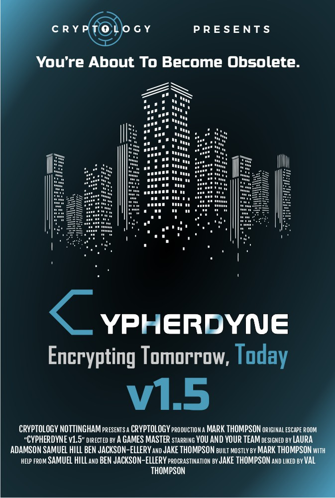 Cypherdyne v1.5 Movie Poster